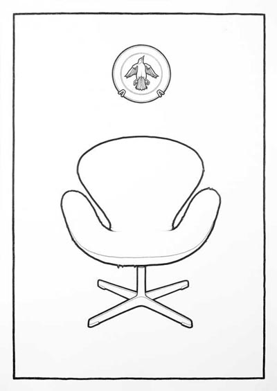 Chair and Plate